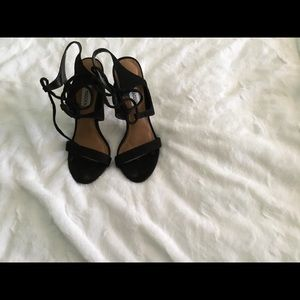 Steve Madden Strappy Ankle Tie Heels